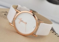Free Shipping Hot Fashion watch ,brand wantces ,Leather watch gift
