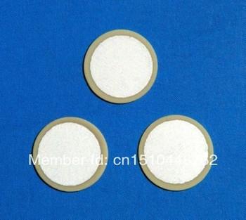 100pcs/lot 27mm Piezoelectric Ceramic pieces Copper Buzzer Film Gasket