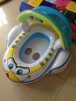 Cartoon baby seat wooden seat yacht belt gazebo