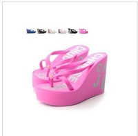 free shipping 2014 summer Juciy couture platform sandals high-heeled sandals women's platform flip flops shoes