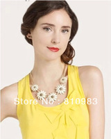 New Arrival Summer Flower Charming Gold Chain Women Wholesale Necklace High Quality Jewelry