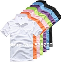 Dropshipping M-XXXL,Mens fashion t-shirt  short sleeve casual style sportswear plus size t shirt slim pure candy color