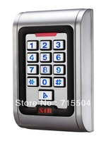 Metal access control proximity card and PIN reader RF001M