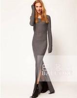 HOT SALE 2014 New Arrival Women Special Occasion Dresses Long Slim Floor-Length Evening Dress,Plus Size XL