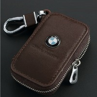 Genuine Leather Automotive Remote Control Bag For X1 X3 X5 X6 Z4 M1 M3 M4 M5 M6 M8 E70 E71 E90 E91 E92 E60 E93 key Bag Key Case