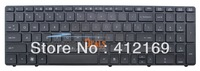 New Laptop Keyboard for HP Probook 6570B black keyboard with frame US layout