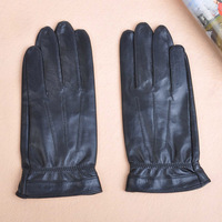 2014 new style Free shipping high quality men's fashion gloves winter genuine Leather Gloves Bike Motor Cycling gloves
