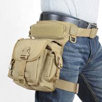 Multifunctional military leg bag tactical swat leg tool bag outdoor hiking tactical leg platform made of 1000D nylon UTX buckle
