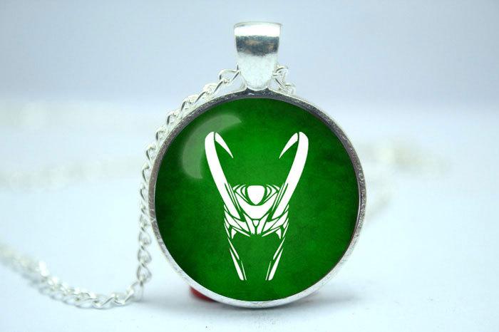 Loki God of Mischief Symbol Handmade Loki God of Mischief