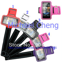 Gym ArmBand For HTC ONE X ONE M7 Running Sport Armband Case Shell holder