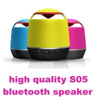 S05 Bluetooth Speaker S10 upgrade for iPhone Samsung HTC iPad TF card wireless speaker Portable mini speaker 10PCS