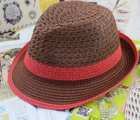 Choke a small pepper hat fashion Miss Han Bannan straw hat summer hat