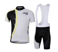 Summer short-sleeved jersey suit strap breathable cycling clothing professional cycling equipment