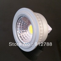 DHL FREE SHIPPING 30PCS 5W MR16 COB LED Spotlight Bulb Lamp High power lamp DC12V 2 years Good Quality