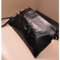2013 Fashion Vintage Handbags Envelope Bag Women Genuine Leather Handbag Small Shoulder Bags Real Leather Clutch Black Bag