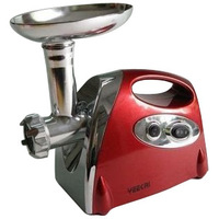 (Free to Russia) Multifunctional electric meat grinder household meat grinder minced meat machine sausage filling red