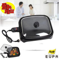 (Free to Russia) Cankun rectangle grill pan multifunctional grill device electric hotplate household electric grimy