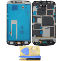 Free shipping  Housing Frame Front Bezel Cover for Samsung Galaxy S Duos S7562