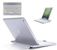 For iPad Air 5th Metal Aluminum Wireless Bluetooth Keyboard Case & Film & Stylus