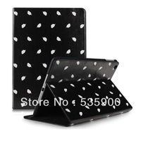 For Apple Ipad Air 5 Elegance PU Leather case Flip Cover Stand Smart Wake Sleep Free Shipping