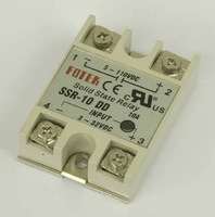 DC to DC Temperature Controller SSR Solid State Relay SSR-10DD
