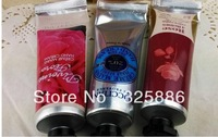 free shipping name brand 30g L hand cream/hand skin care treatment/hand lotion with top selling 3 flavor for each set