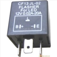 3 Pin Electronic Led Flasher 12V Car Flasher Relay CF13JL-02