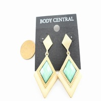 Free Shipping Ab fashion accessories fashion earrings drop earring