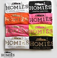2014 summer golden homies letter lovers short-sleeve T-shirt women