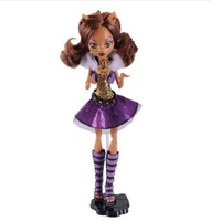 T0031 Original Monster High dolls Y0421 It's Alive Clawdeen Wolf Doll  gift plastic toy for girl Free shipping