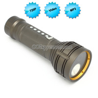 720P Motion Detection Police Flashlight Camera DVR with MP3 Player LM-FC281