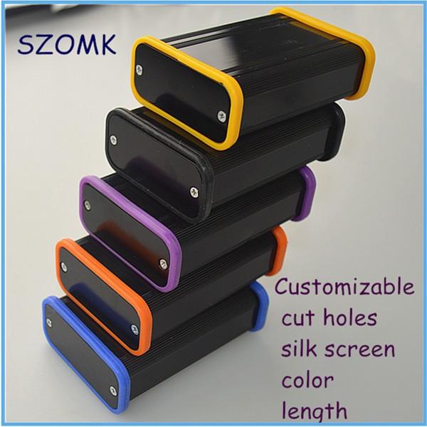 4 pieces a lot Free shipping aluminum enclosure project box aluminum box 25*58*85 mm(China (Mainland))