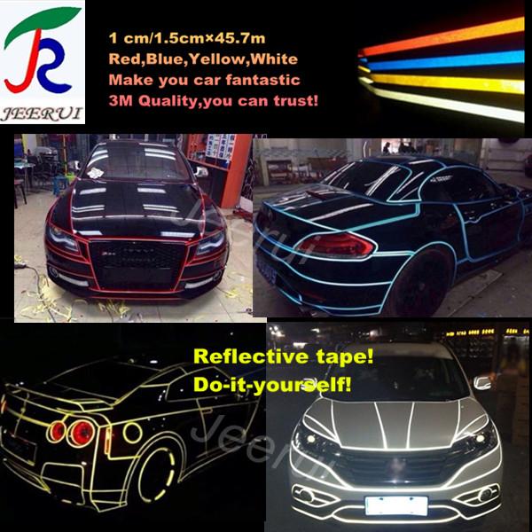 reflective tape rolls,high intensity reflective tape,retro reflective tape 3m 1.5cm*46m(China (Mainland))