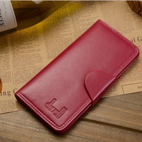 2014 New 100% Genuine Leather oil wax skin women's Long clutch wallet multi-card wallet Evening bag
