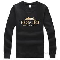 Homies o-neck pullover 100% cotton lovers designer long sleeve women/men's t shirt xxl