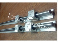 2X ( SBR16-310mm / SBR20-580mm/1020mm  ) SUPPORTED LINEAR RAIL SHAFT & 12 SBR Bearing Blocks
