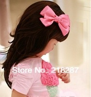 2013 hot selling 24pcs/lot Cute Solid Color Bows Hair clips/Kids/Children/Baby/Girls/Princess/Hair Pins/Hair Accessories