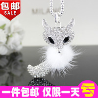 Accessories all-match fashion necklace female necklace fox long design fashion vintage female