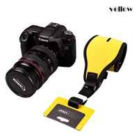 Camera Single Shoulder Neck Sling Strap Belt for Canon Nikon Sony DSLR Yellow
