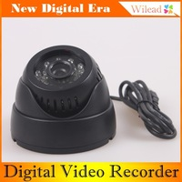 TF Card Digital Video Recorder USB Security Dome Camera Intelligent Detection and 24LED Infrared Night vision Eleader AD0044