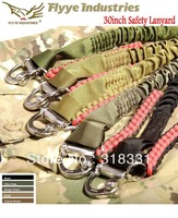 ( 650KG Loading Capacity) Super Strong FLYYE Fast Buckle Safety Lanyard Safety Retractable Lanyards Harness Fall Protection Belt