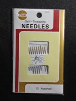 Free shipping wholesale Sewing needles self-threading needles 5pcs a bag.