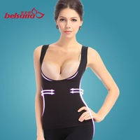 Free Shipping Sleeveless Top Vest Shapers Seamless Chest Up Waist Control Slim Shapewear Slimming body Corset Tops