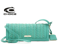 Summer choice fashion candy color long design clutch bag small bag