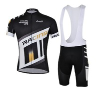 Strap-sleeved suit cycling clothing equipment exhaust perspire riding clothes suit cycling clothes