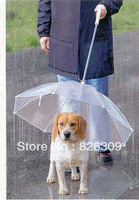 wholesale pet dog protective rain umbrella, fashion sunny umbrella, have a tring for walk the dog