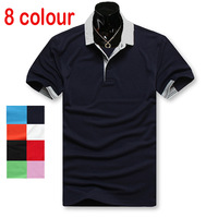 Free shipping 2013 new fashion 100% cotton diamond supply co brand polo shirt men Short sleeve B001