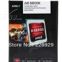 The AMD APU Quad A8-5600K box CPU (Socket FM2/3.6GHz/4M cache /HD 7560D/100W)