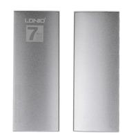 LDNIO DL-H7 High Speed 7-Port USB 2.0 Hub - Silver + White