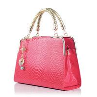 Women's bags women's handbag fashion crocodile pattern fashion shoulder bag handbag cross-body women's